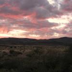 Naukluft Namibia dusk