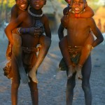 Himba tribe children - courtesy of Nomad Tours