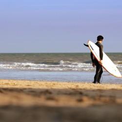 Bournemouth surfer