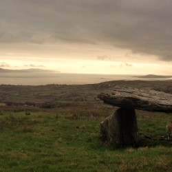 Ballynahowen wedge grave 4000BC and Bantry Bay