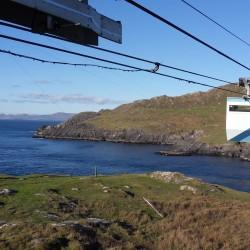 Cable car (facing mainland)