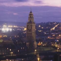 Cork City-Shandon Night View - Discover Ireland Tourism