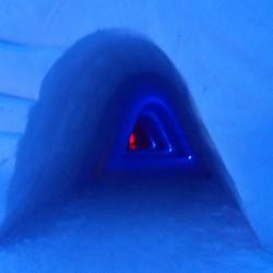 Snowhotel passage