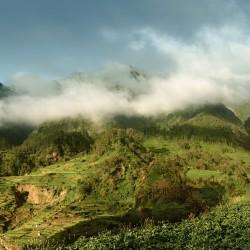 Panoramic view of São Vicente