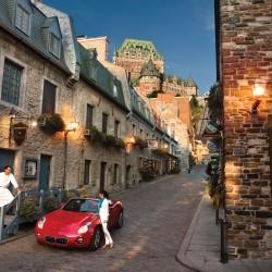 Old town Quebec - courtesy bonjourquebec.com Tourism