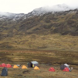 Camp, Andes,