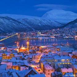 Blue light Tromso