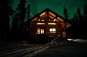 Yukon cabin tour